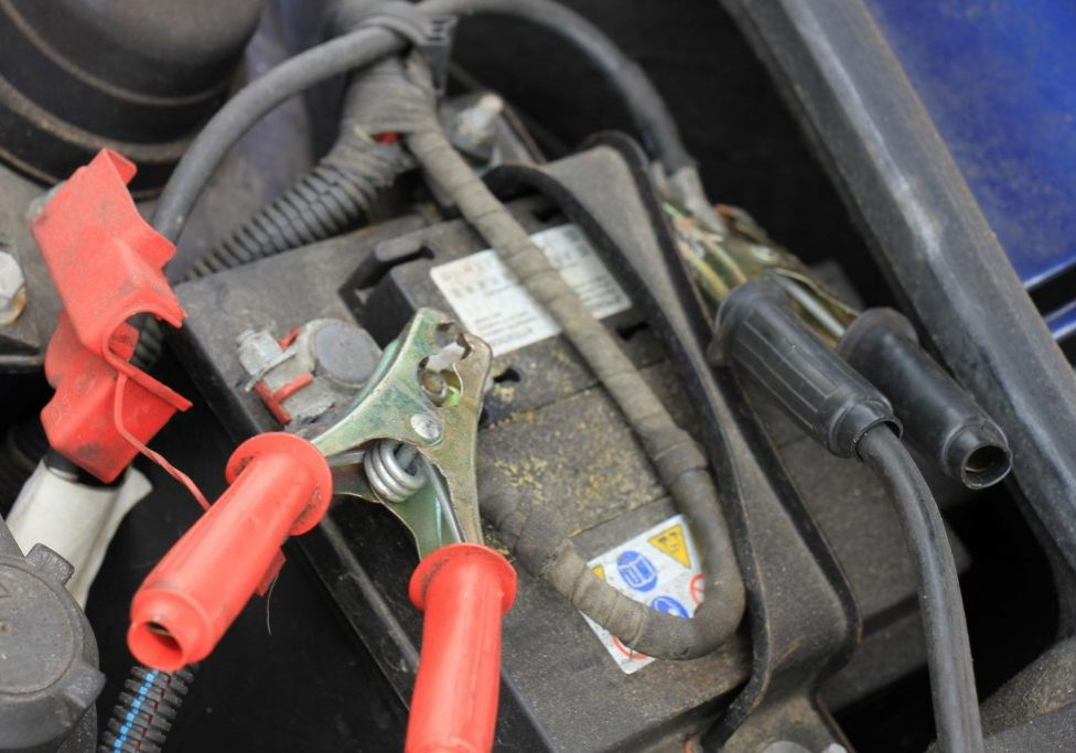 North Bay Towing Service - Boosting Battery 1